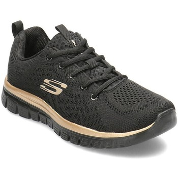 Scarpe Donna Sneakers basse Skechers Get Connected Nero