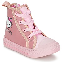 Scarpe Bambina Sneakers alte Hello Kitty TANSIOUR Rosa