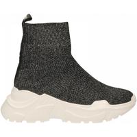 Scarpe Donna Sneakers alte Emanuélle Vee SNEAKER CALZINO black