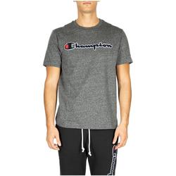 Abbigliamento Uomo T-shirt & Polo Champion Crewneck T-Shirt em516-grdkm-grigio-scuro