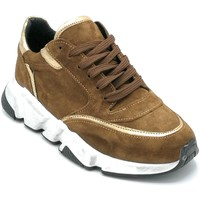 Scarpe Donna Sneakers basse Riccianera GR77 Cuoio-bronzo