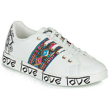 Scarpe Donna Sneakers basse Desigual COSMIC EXOTIC INDIAN Bianco