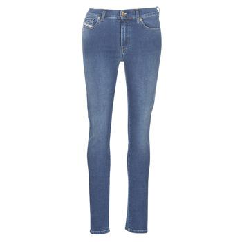 Abbigliamento Donna Jeans slim Diesel D-ROISIN Blu /  085ab