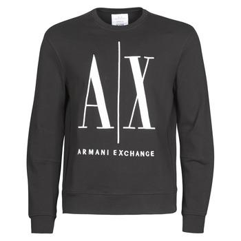 Abbigliamento Uomo Felpe Armani Exchange HELIX Nero