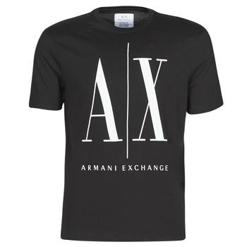 Abbigliamento Uomo T-shirt maniche corte Armani Exchange HULO Nero
