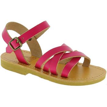 Scarpe Bambina Sandali Attica Sandals Attica sandalo da bambina hebe in pelle di vitello handmade Fucsia