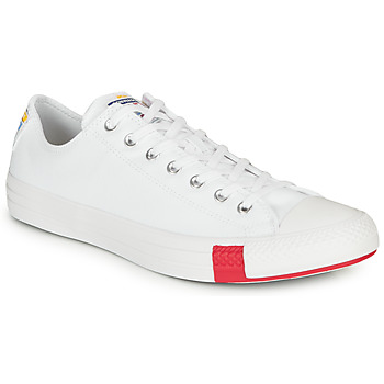 Scarpe Sneakers basse Converse CHUCK TAYLOR ALL STAR LOGO STACKED - OX White