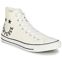Scarpe Sneakers alte Converse Chuck Taylor All Star Chuck Taylor Cheerful Bianco