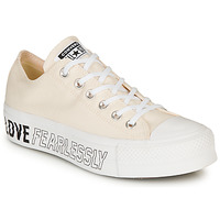 Scarpe Donna Sneakers basse Converse CHUCK TAYLOR ALL STAR LIFT - OX Beige