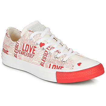 Scarpe Donna Sneakers basse Converse CHUCK TAYLOR ALL STAR - OX White / Red