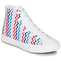 Scarpe Bambina Sneakers alte Converse CHUCK TAYLOR ALL STAR VLTG - HI White / Blue / Red