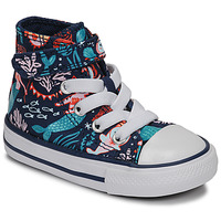 Scarpe Bambina Sneakers alte Converse CHUCK TAYLOR ALL STAR 1V UNDERWATER PARTY Blu