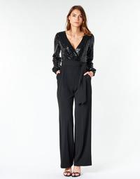 Abbigliamento Donna Tuta jumpsuit / Salopette Lauren Ralph Lauren Alexis Nero