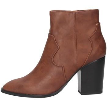 Scarpe Donna Stivaletti Exé Shoes RIO-477 Tan
