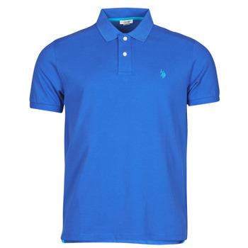 Abbigliamento Uomo Polo maniche corte U.S Polo Assn. INSTITUTIONAL POLO Blu