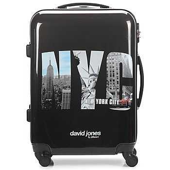 Borse Valigie rigide David Jones STEBI 53L Nero