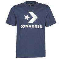 Abbigliamento Uomo T-shirt maniche corte Converse STAR CHEVRON TEE Blu