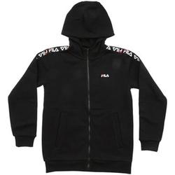 Abbigliamento Bambino Felpe Fila - Felpa zip nero 687264-002 NERO