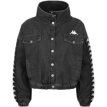Abbigliamento Bambino Giacche in jeans Kappa - Giubbotto grigio 304P340-906 GRIGIO