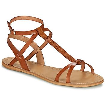 Scarpe Donna Sandali So Size BEALO Camel