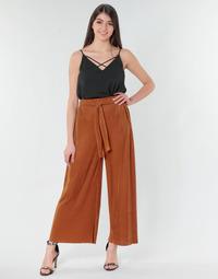 Abbigliamento Donna Pantaloni morbidi / Pantaloni alla zuava Moony Mood 93114-ROUILLE Rouille