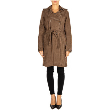 Abbigliamento Donna Trench Bully TRENCH taupe