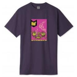 Abbigliamento T-shirt maniche corte Huf Drug Bugs T-Shirt - Purple Velvet Viola
