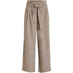 Abbigliamento Donna Pantaloni Vila VIMULINI beige