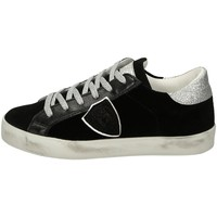 Scarpe Unisex bambino Sneakers basse Philippe Model PARIS Nero