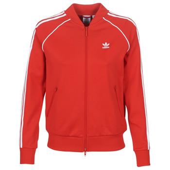 Abbigliamento Donna Giacche sportive adidas Originals SS TT Rosso / Luxuriant