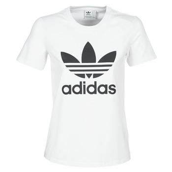 Abbigliamento Donna T-shirt maniche corte adidas Originals TREFOIL TEE Bianco