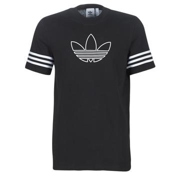 Abbigliamento Uomo T-shirt maniche corte adidas Originals OUTLINE TEE Nero