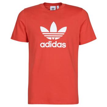 Abbigliamento Uomo T-shirt maniche corte adidas Originals TREFOIL T-SHIRT Rosso / Luxuriant
