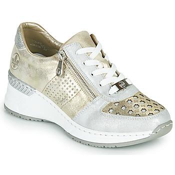 Scarpe Donna Sneakers basse Rieker LEA Oro / Argento