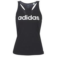 Abbigliamento Donna Top / T-shirt senza maniche adidas Performance E LIN SLIM TK Nero