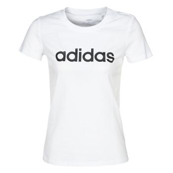 Abbigliamento Donna T-shirt maniche corte adidas Performance E LIN SLIM T Bianco