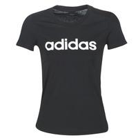 Abbigliamento Donna T-shirt maniche corte adidas Performance E LIN SLIM T Nero
