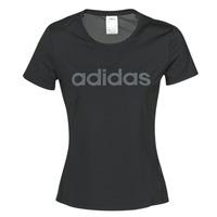 Abbigliamento Donna T-shirt maniche corte adidas Performance D2M LO TEE Nero