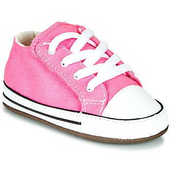 Scarpe Bambina Sneakers alte Converse CHUCK TAYLOR FIRST STAR CANVAS HI Rosa