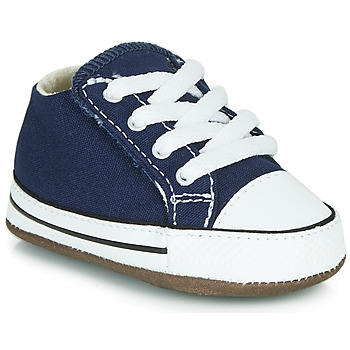 Scarpe Unisex bambino Sneakers alte Converse Chuck Taylor First Star Canvas Hi Blu
