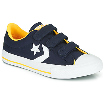 Scarpe Bambino Sneakers basse Converse STAR PLAYER 3V VARSITY CANVAS Blu
