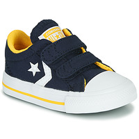 Scarpe Bambino Sneakers basse Converse STAR PLAYER 2V VARSITY CANVAS Blu