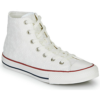 Scarpe Bambina Sneakers alte Converse CHUCK TAYLOR ALL STAR LITTLE MISS CHUCK Bianco