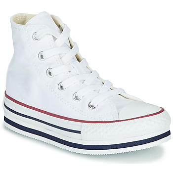 Scarpe Bambina Sneakers alte Converse CHUCK TAYLOR ALL STAR PLATFORM EVA EVERYDAY EASE Bianco