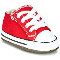 Scarpe Unisex bambino Sneakers alte Converse CHUCK TAYLOR ALL STAR CRIBSTER CANVAS COLOR Rosso