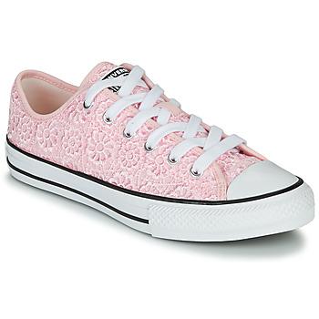 Scarpe Unisex bambino Sneakers basse Converse CHUCK TAYLOR ALL STAR DAISY CROCHET Rosa