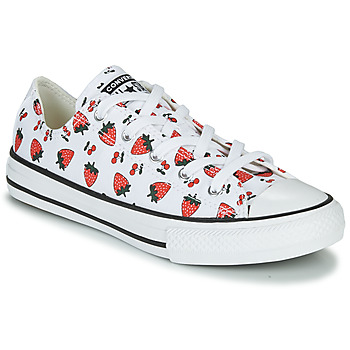 Scarpe Unisex bambino Sneakers basse Converse CHUCK TAYLOR ALL STAR SPRING FRUITS Bianco / Rosso