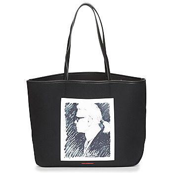 Borse Tote bag / Borsa shopping Karl Lagerfeld KARL LEGEND CANVAS TOTE Nero