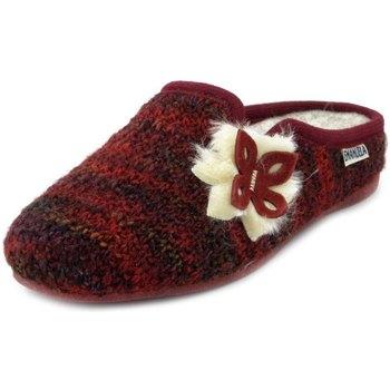 Scarpe Donna Pantofole Emanuela Pantofole rosso bordeaux