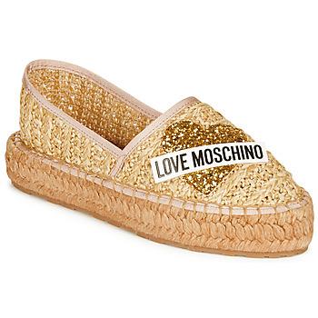 Scarpe Donna Espadrillas Love Moschino JA10393G0A Beige